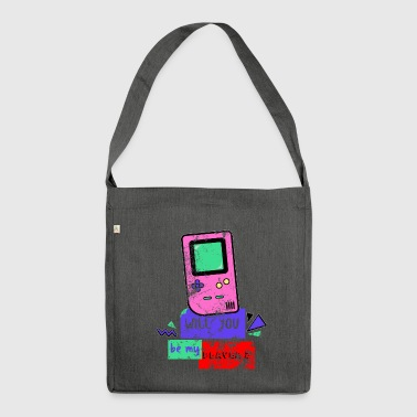Game Boy Game Boy 90s Console Vintage Retro Distressed - Borsa in materiale riciclato