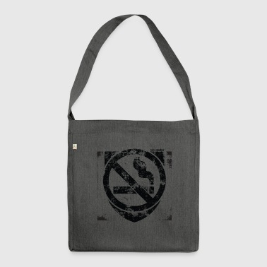 Non-Smoker - Shoulder Bag made from recycled material