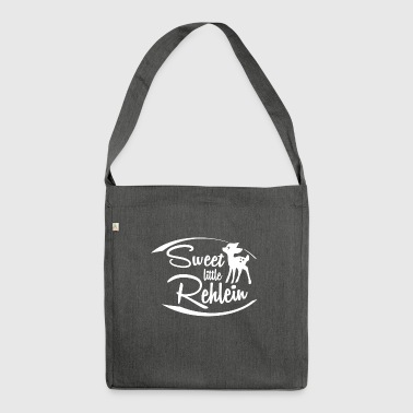 SWEET LITTLE REHLEIN - Schultertasche aus Recycling-Material