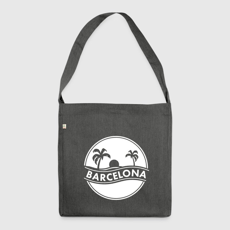 Barcelona - Schultertasche aus Recycling-Material