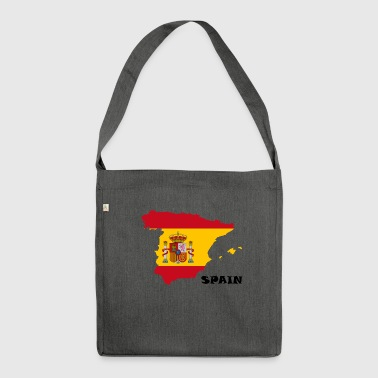 Spain, Spain - Shoulder Bag made from recycled material