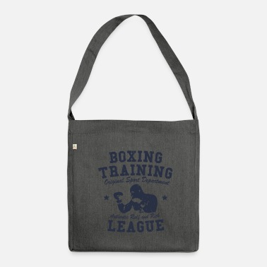 Training boxing training - Sac bandoulière 100 % recyclé