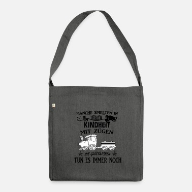 Train Driver Train driver Train driver Train driver Gift - Shoulder Bag recycled