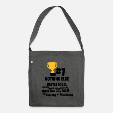 Count Royal Only place # 1 counts - Battle Royal - Shoulder Bag made from recycled material