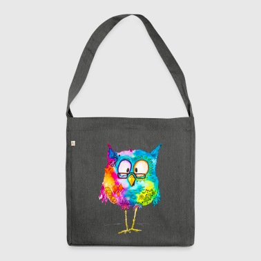 Otto the owl - Shoulder Bag made from recycled material