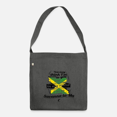 Jamaica HOLIDAY JAMESICA ROOTS TRAVEL IN Jamaica Savanna - Shoulder Bag made from recycled material