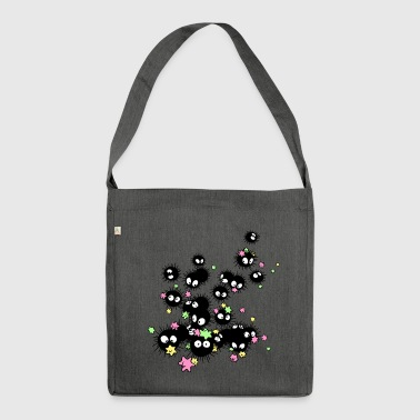 Dust bunny - Shoulder Bag made from recycled material