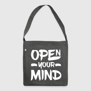 Open Your Mind - Sac bandoulière 100 % recyclé