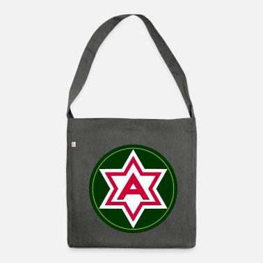 Cerotto cerotto sesto US Army - Borsa in materiale riciclato