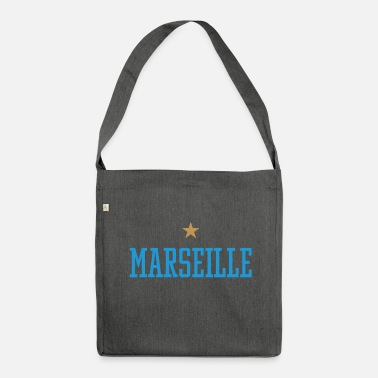 Marseille Marseille - Schultertasche aus Recycling-Material