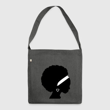 Afro - Shoulder Bag made from recycled material