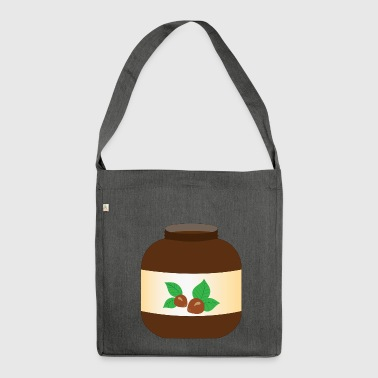 hazelnut hazelnut veggie vegetables fruits7 - Shoulder Bag made from recycled material