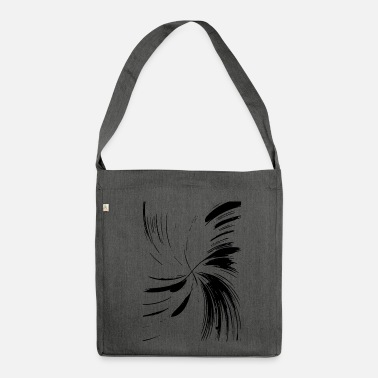 Abstract abstract - Shoulder Bag made from recycled material