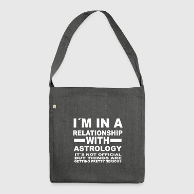 relationship with ASTROLOGY - Shoulder Bag made from recycled material
