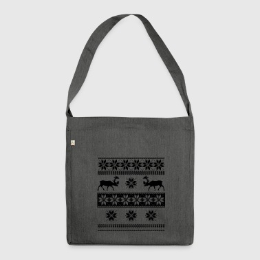 norwegian pulli - Shoulder Bag made from recycled material