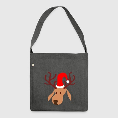 Rudolf Reindeer - Shoulder Bag made from recycled material