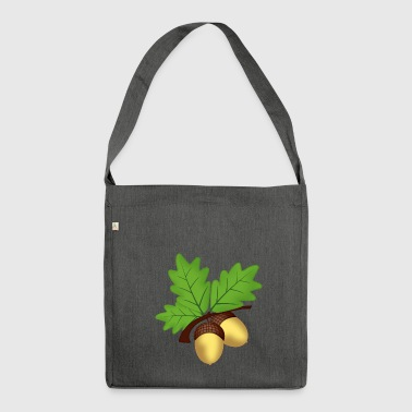 hazelnut hazelnut veggie vegetables fruits3 - Shoulder Bag made from recycled material
