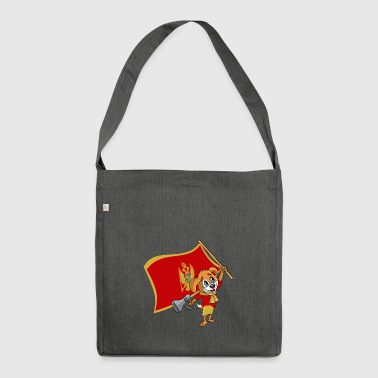 Montenegro fan dog - Shoulder Bag made from recycled material