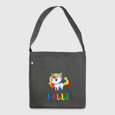 Lilli unicorn - Shoulder Bag made from recycled material