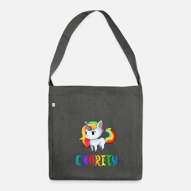 Charity Unicorn Charity - Shoulder Bag made from recycled material