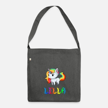 Lilla Unicorn Lilla - Borsa in materiale riciclato