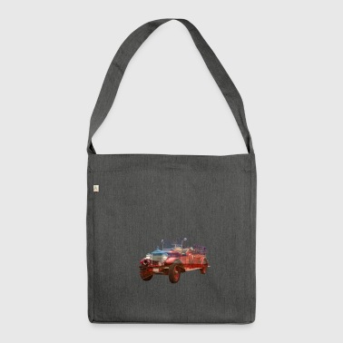 Car classic car - Shoulder Bag made from recycled material