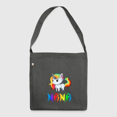 Unicorn Nana - Shoulder Bag made from recycled material