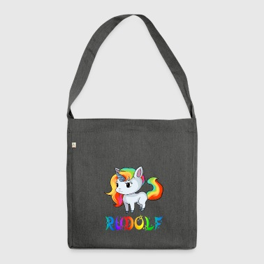 Unicorn Rudolf - Shoulder Bag made from recycled material