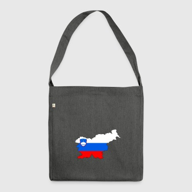 Slovenia - Slovenia - Country - Shoulder Bag made from recycled material