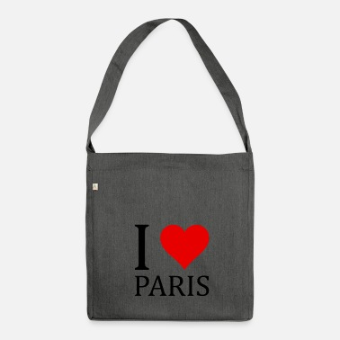 I Love Paris I love Paris! - Borsa in materiale riciclato