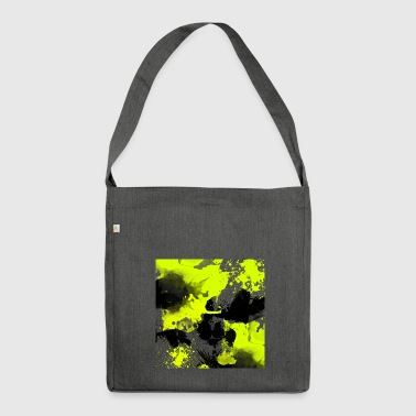 Watercolour Splat - Shoulder Bag made from recycled material