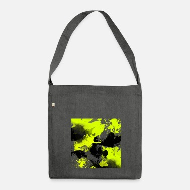 Watercolour Watercolour Splat - Shoulder Bag made from recycled material
