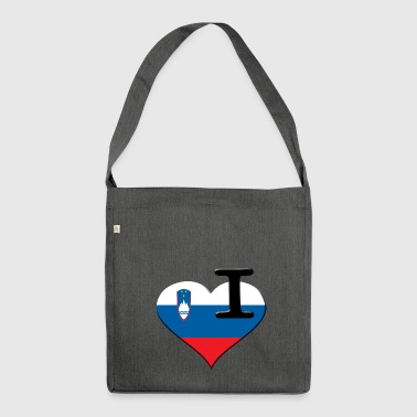 Slovenia - Shoulder Bag made from recycled material