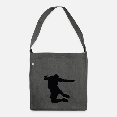 Jumping high jump jumping high jump jump ballerina24 - Shoulder Bag made from recycled material