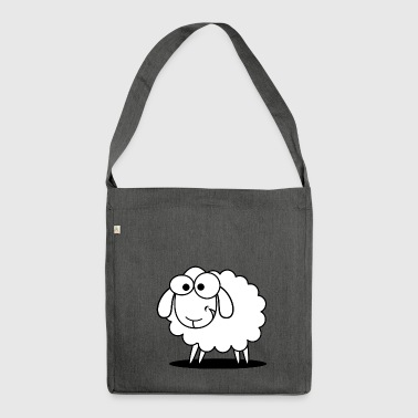 sheep, sheep, - Shoulder Bag made from recycled material