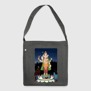 Ganesha - Shoulder Bag made from recycled material