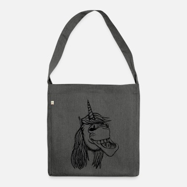 Astratto reale Unicorn - Borsa in materiale riciclato