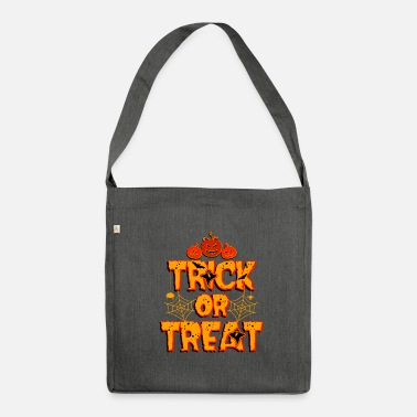 Trick Or Treat Trick or Treat Trick or Treat Halloween - Sac bandoulière 100 % recyclé