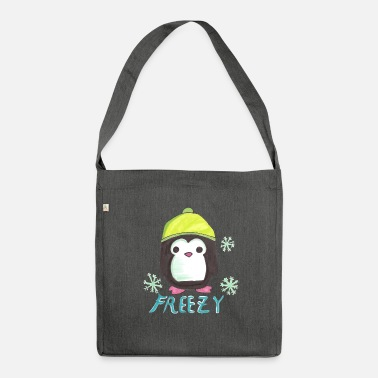Penguin freezy - Borsa in materiale riciclato