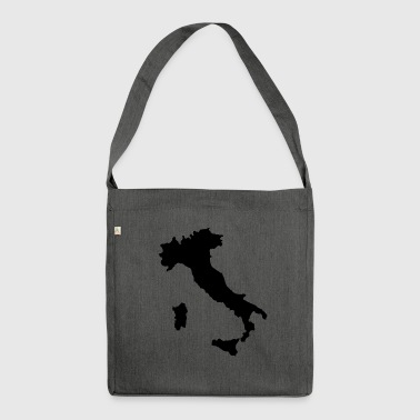 Italia - Italy chest logo - Shoulder Bag made from recycled material