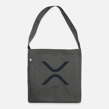 Drawstring Ripple XRP logo - Shoulder Bag made from recycled material