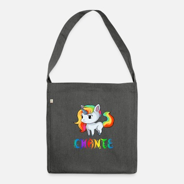 Chant Unicorn Chante - Shoulder Bag recycled