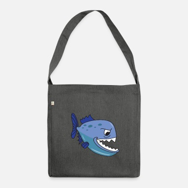 Piranha Piranha - Shoulder Bag made from recycled material