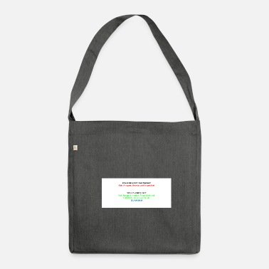 Conceited conceited - Shoulder Bag recycled