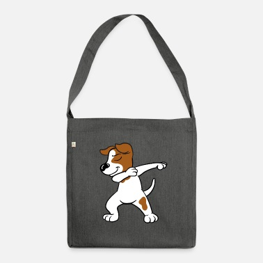 Jack Dabbing Dab Jack Russell Terrier Dog Dancing - Borsa in materiale riciclato
