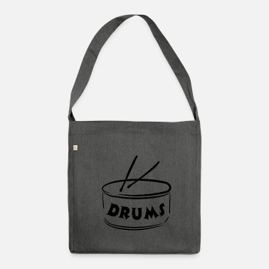 Instrument Drums - Instrument - Musical Instruments - Shoulder Bag made from recycled material