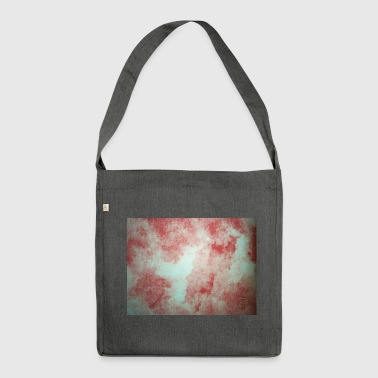 Water colour - Shoulder Bag made from recycled material