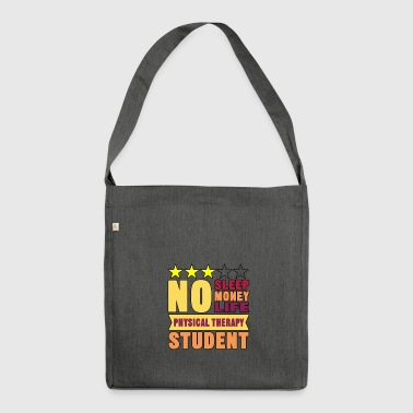 no sleep - Shoulder Bag made from recycled material