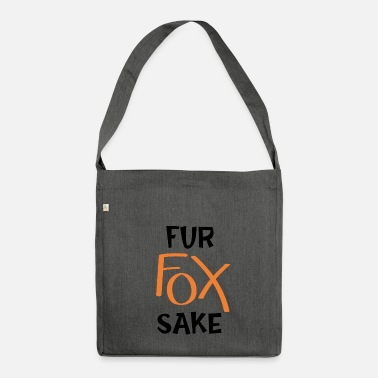 Fur Fur fox will - Shoulder Bag made from recycled material