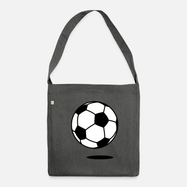 Boll football with shadow / ball with shadow 2c - Sac bandoulière 100 % recyclé